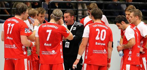 Auch ein Team-Time-Out kurz vor Schluss konnte die Niederlage nicht verhindern (Archivfoto: Schaumann)