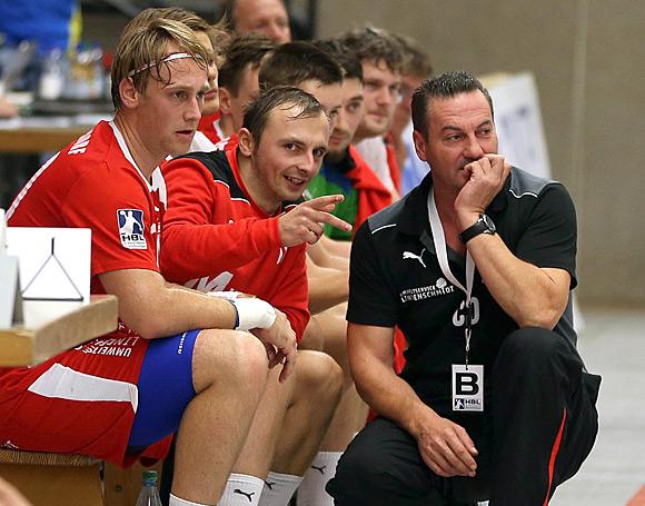 Das Team von Trainer Dincic konnte nicht an die Leistungen des Heimsieges vom Wochenende anknüpfen (Archivbild: Schaumann)