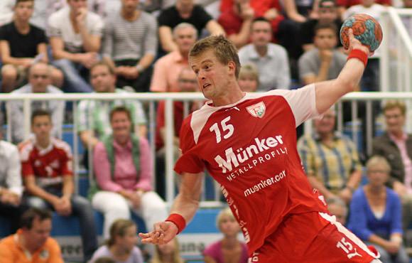 Carsten Lange war mit 9 Toren erfolgreichster Werfer in Dormagen. (Foto: TuS Ferndorf)