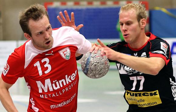 Erster Einsatz nach Muskelfaserriss - und gleich mit fünf Toren erfolgreich: David Breuer. (Foto: Horst Schaumann)