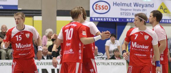 """Mit einer guten Teamleistung will der TuS gegen die """"Löwen"""" bestehen. (Foto: TuS Ferndorf)"""