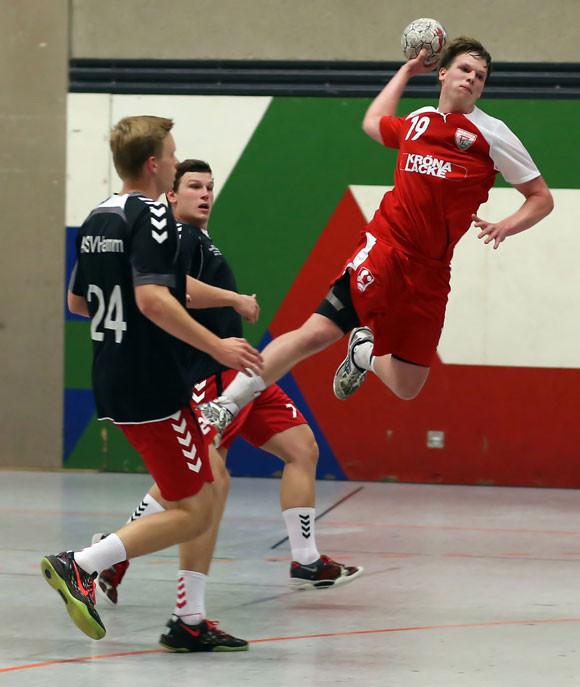 Niklas Reuter soll auch gegen Eiserfeld treffen. (Foto: Horst Schaumann)