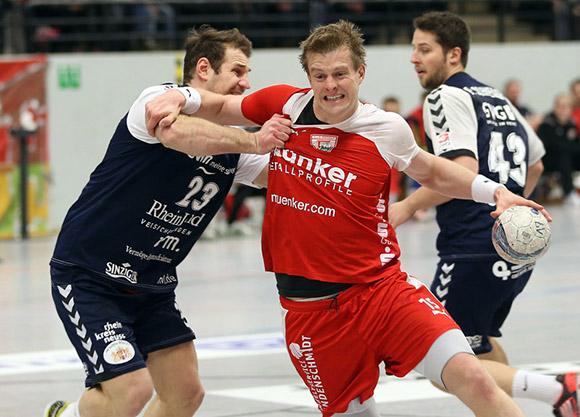 Carsten Lange Top Scorer der letzten Spiele erzielt einen seiner sechs Treffer (Foto Schaumann)