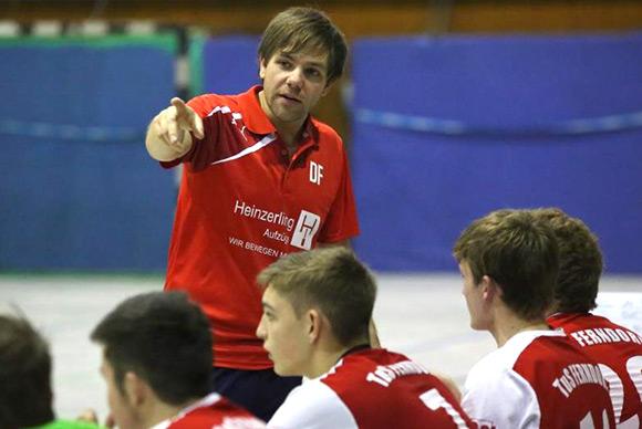 Trainer Daniel Friesenahgen sah ein gutes Spiel seines Teams, verlor am Ende aber unglücklich (Foto: J.Klein)