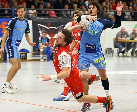 Auch die Treffer von Moritz Barkow werden in Lemgo wichtig sein (Foto: Schaumann)