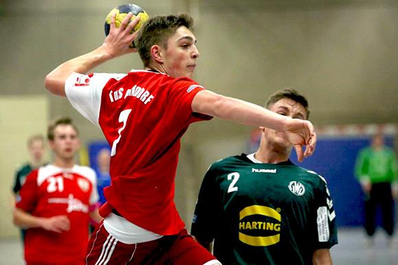Der A-Jugendliche  Jonas Haupt erzielte 6 Treffer für das Lerscht Team (Archivfoto)