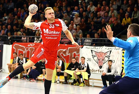 Das Team will in Gladbeck den nächsten Sieg holen- im Bild Daniel Mestrum (Foto: Schaumann)