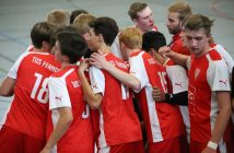 B-Jugend beim Time-out