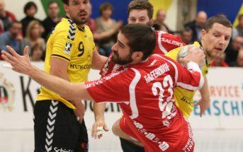 Kreisläufer Fabio Schöttler erzielte sein erstes Zweitligator gegen Coburg (Foto: Schaumann)