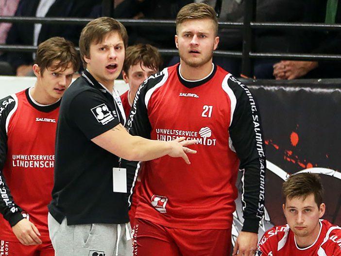 Trainer Michael Lerscht war alles andere als zufrieden mit dem Spiel seines Teams (Archivfoto: Schaumann)