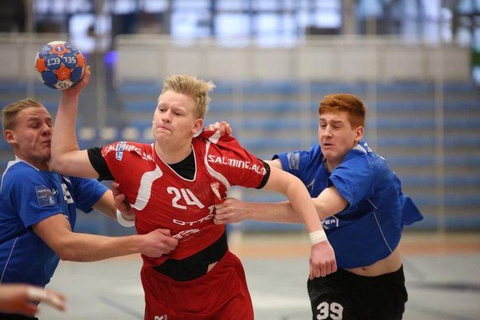 Linus Michel erzielte drei Treffer gegen Dormagen (Foto: Klein)