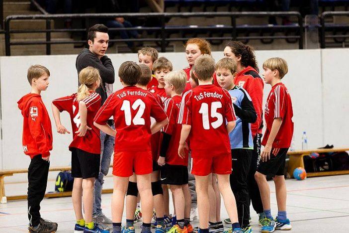 Team Time-Out für den TuS Ferndorf