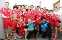 Das B-Jugend Oberliga-Team des TuS Ferndorf in der Saison 2016/17