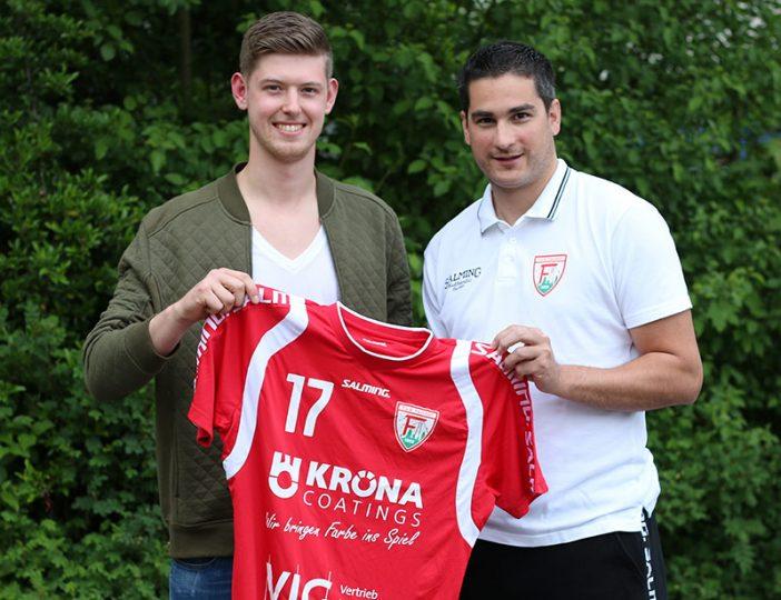 Philipp Pfeil wird in der kommenden Saison wieder das Ferndorfer Trikot tragen