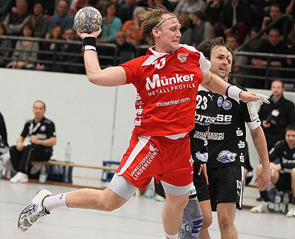 Tim Hilger erzielte fünf Tore, dennoch gab es eine Niederlage (Archiv: Foto Schaumann)