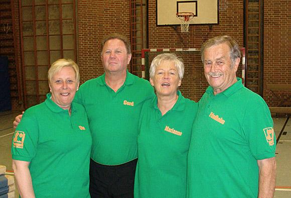 Teilnehmer der ersten Stunde: Friedhelm, Marianne, Gerd und Ute