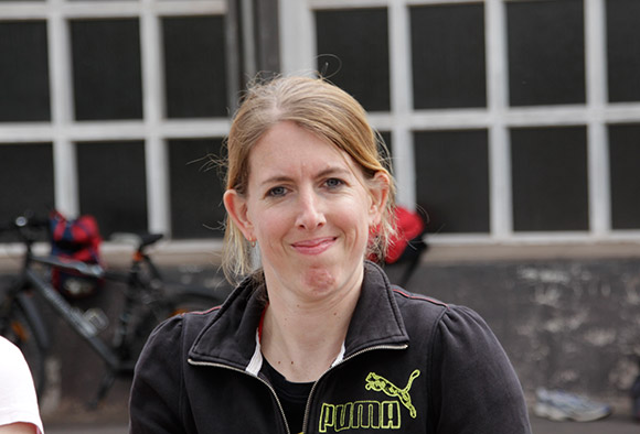 Bereits zum zweiten Male wurde Melanie Hirsch Deutsche Meisterin