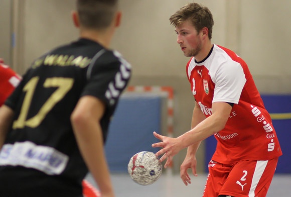 Kai Ronge erzielte in den Spielen in Belgien 5 Tore. (Foto: TuS Ferndorf)