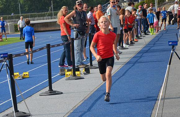 Einen ganz starken dritten Platz belegte Friedrich Schaub bei den Sprintermeisterschaften in Berlin.