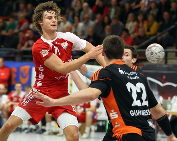 Patrick Bettig spielte eine überzeugende erste Halbzeit gegen Aue. (Foto: Horst Schaumann)