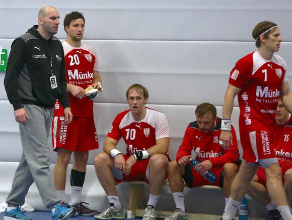 Enttäuschung beim TuS Ferndorf nach der Niederlage in Gummersbach. (Foto: Horst Schaumann)