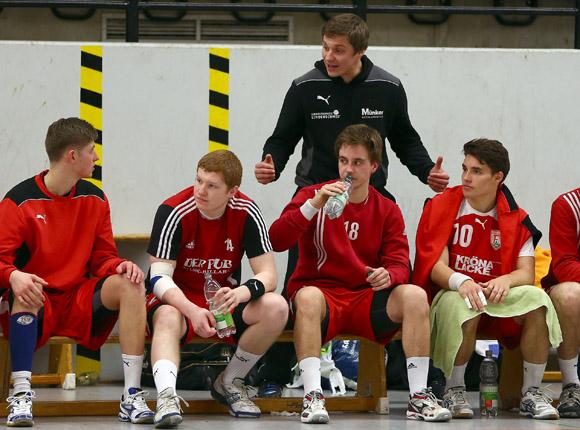 """Coach Michael Lerscht """"lebt"""" Handball (Foto: Schaumann)"""