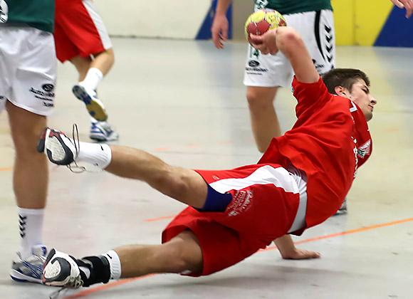 Kreislläufer Fabian Benger aus der Bundesliga A-Jugend erzielte 10 Treffer für das Lerscht Team (Archiv-Foto: Schaumann)