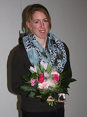 Große Ehre für Melanie Hirsch - Turnerin des Jahres 2013 in Westfalen