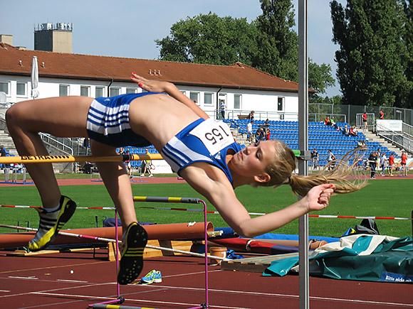 Olivia Plett in Aktion (Archivfoto)