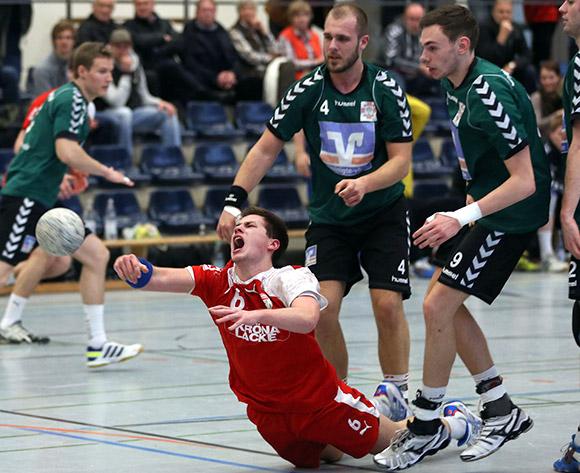 Lars Heinrich steuerte sechs Treffer zum Sieg bei (Foto: Schaumann)
