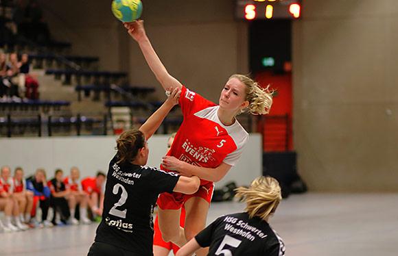 Fünf Treffer von Antonia Plett reichten am Ende nicht (Foto: Marvin Müller)