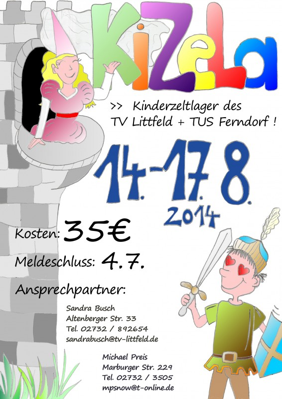 Kinderzeltlager2014