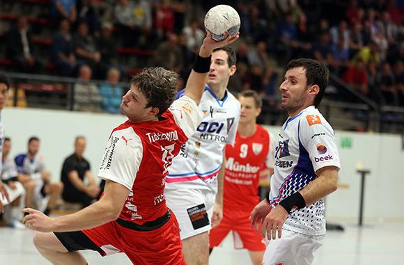 Kreisläufer Bennet Johnen erzielte 5 Treffer in Schalksmühle (Foto: Schaumann)