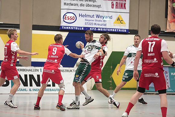 Um jeden Ball wurde auf Ferndorfer Seite gekämpft (Foto: CST)