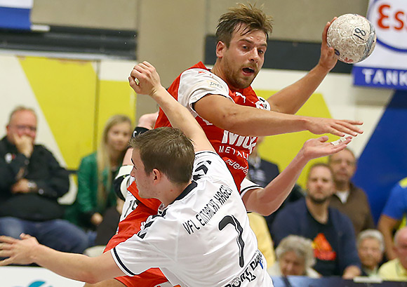 Niklas Weis erzielte acht Tore gegen seinen Ex-Verein (Archivfoto: Schaumann)