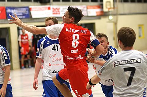 Alex Koke war mit 6 Treffern erfolgreichster Torschütze in Lemgo (Foto: M.Müller)