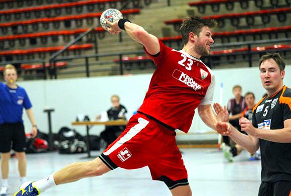 Kai Ronge erzielte 13 Tore gegen Harsewinkel und führt due Torschützenliste der Handball-Verbandsliga an (Archivfoto: Schaumann)