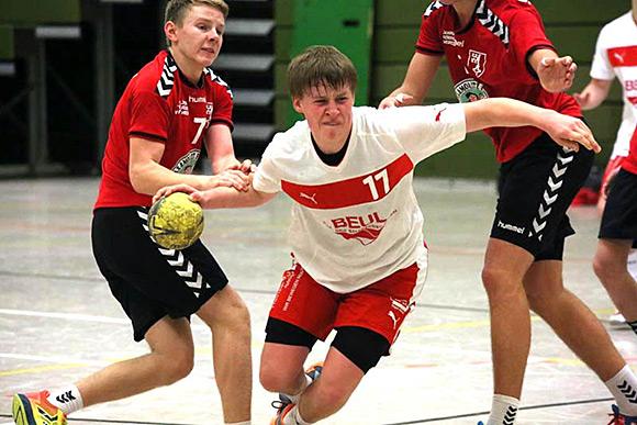 Mattis Michel erzielte 11 Treffer für sein Team (Foto: J. Klein)