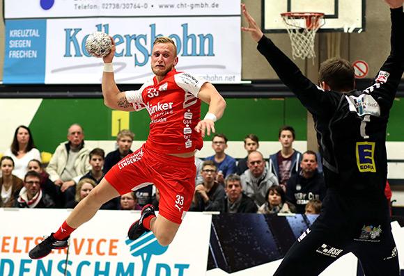 Daniel Mestrum (Foto) war neben Simon Breuer mit 6 Treffern erfolgreichster Torschütze beim TuS (Foto: Schaumann)