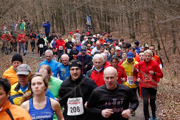 Über 250 Teilnehmer kamen zum 17 Ferndorfer Frühjahrswaldlauf