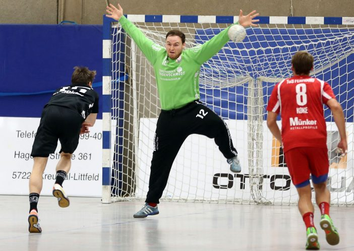 Sensationelle Leistung vor allem in Halbzeit Zwei: Lucas Puhl. (Foto: Schaumann)