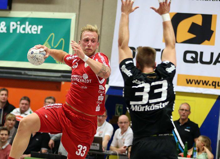 Linksaußen Daniel Mestrum erzielte in Ludwigshafen 3 Treffer