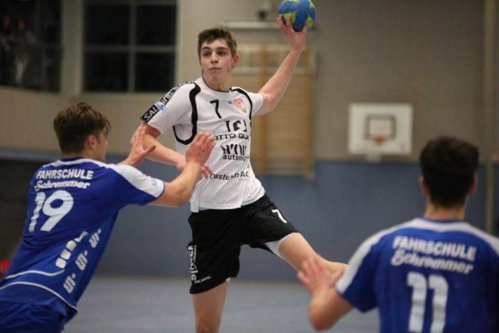 Karl-Jonas Haupt erzielte am Ende 6/1 Treffer (Foto: J.Klein)