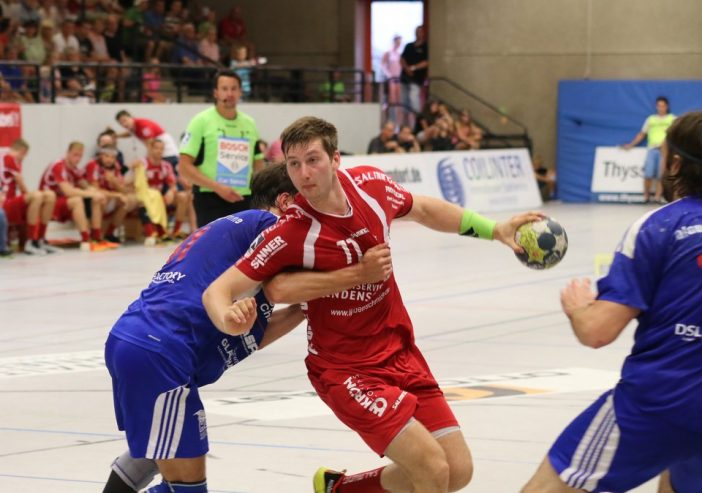 Lucas Schneider erzielte 4 Tore gegen den TV Emsdetten (Archivfoto)