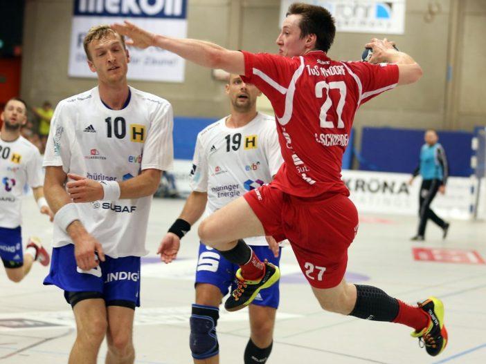 Julian Schneider in seinem ersten Meisterschaftsspiel seit 10 Monaten erzielte 6 Treffer (Foto: Schaumann)