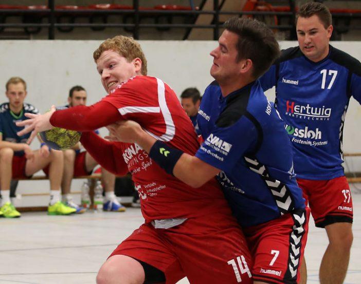 Fabian Schneider erzielte 5 Treffer gegen die HSV Plettenberg/Werdohl (Foto: Schaumann)
