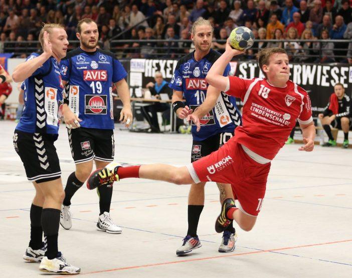 Jugendnationalspieler Mattis Michel konnte durch viel Einsatz überzeugen. (Foto: Schaumann)