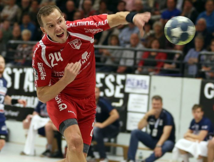 Miro Volentics erzielte 5 Treffer gegen die HSG Nordhorn (Foto: Schaumann)