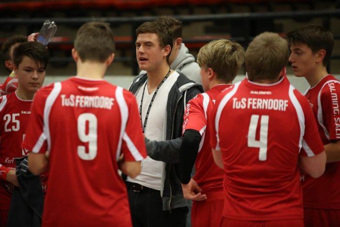 Co Trainer Marius Kastening