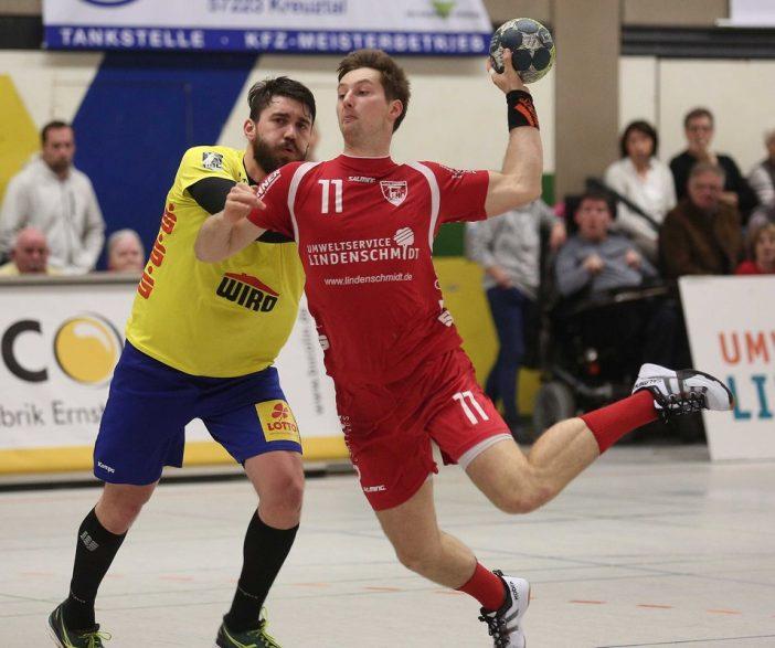 Erfolgreichster Schütze beim TuS: Lucas Schneider mit 10/6 Treffern (Foto: Schaumann)